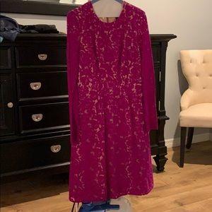 Stunning BCBG lace dress long sleeves